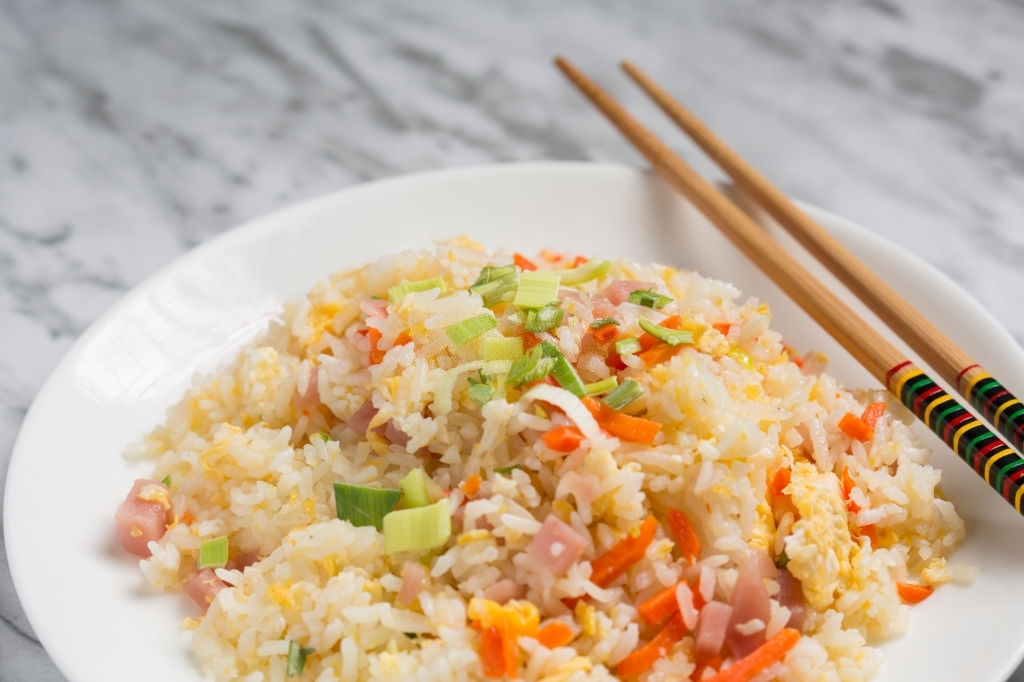 Receta china de arroz tres delicias