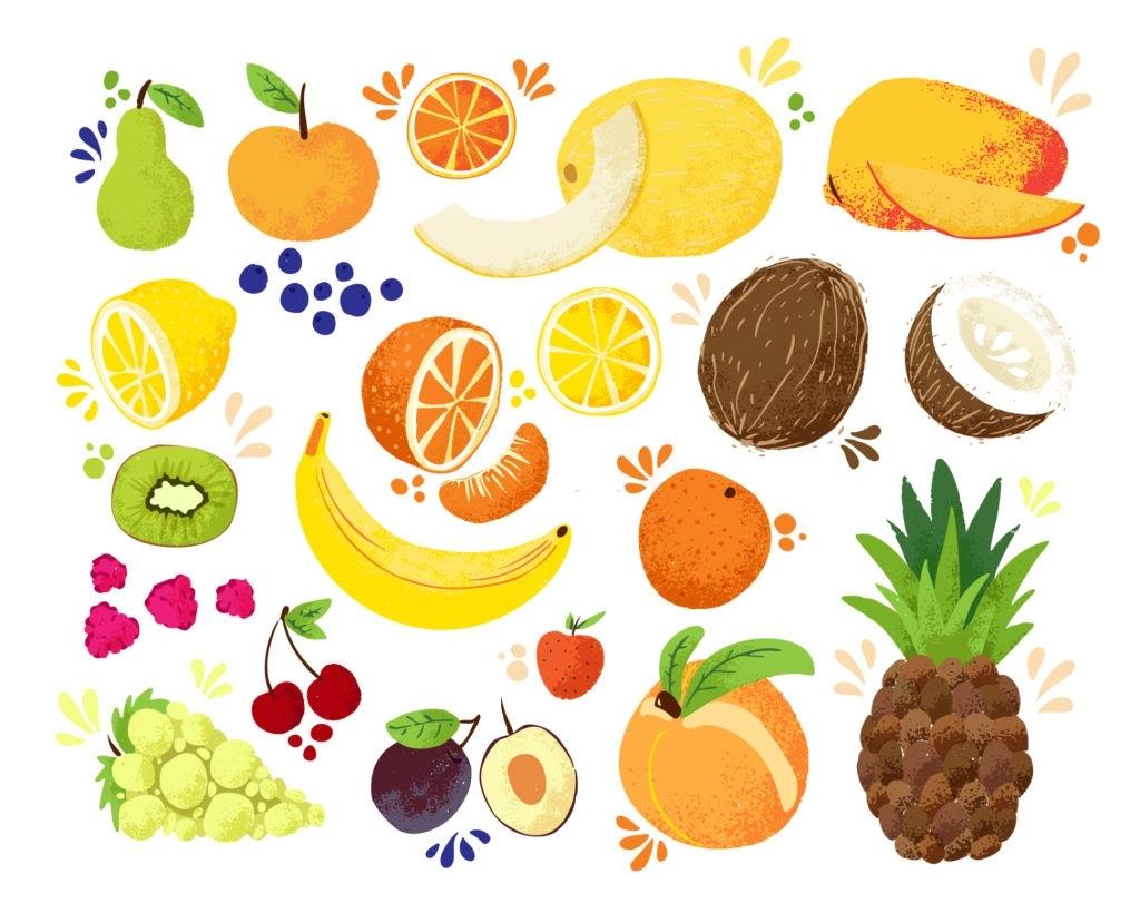 frutas para combinar con limonada