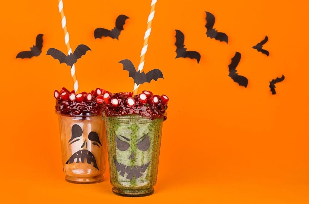 Batidos para Halloween | 🎃 🥤 🦇 ¡Smoothies Saludables y Terroríficos!