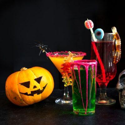 Bebidas y cócteles para Halloween