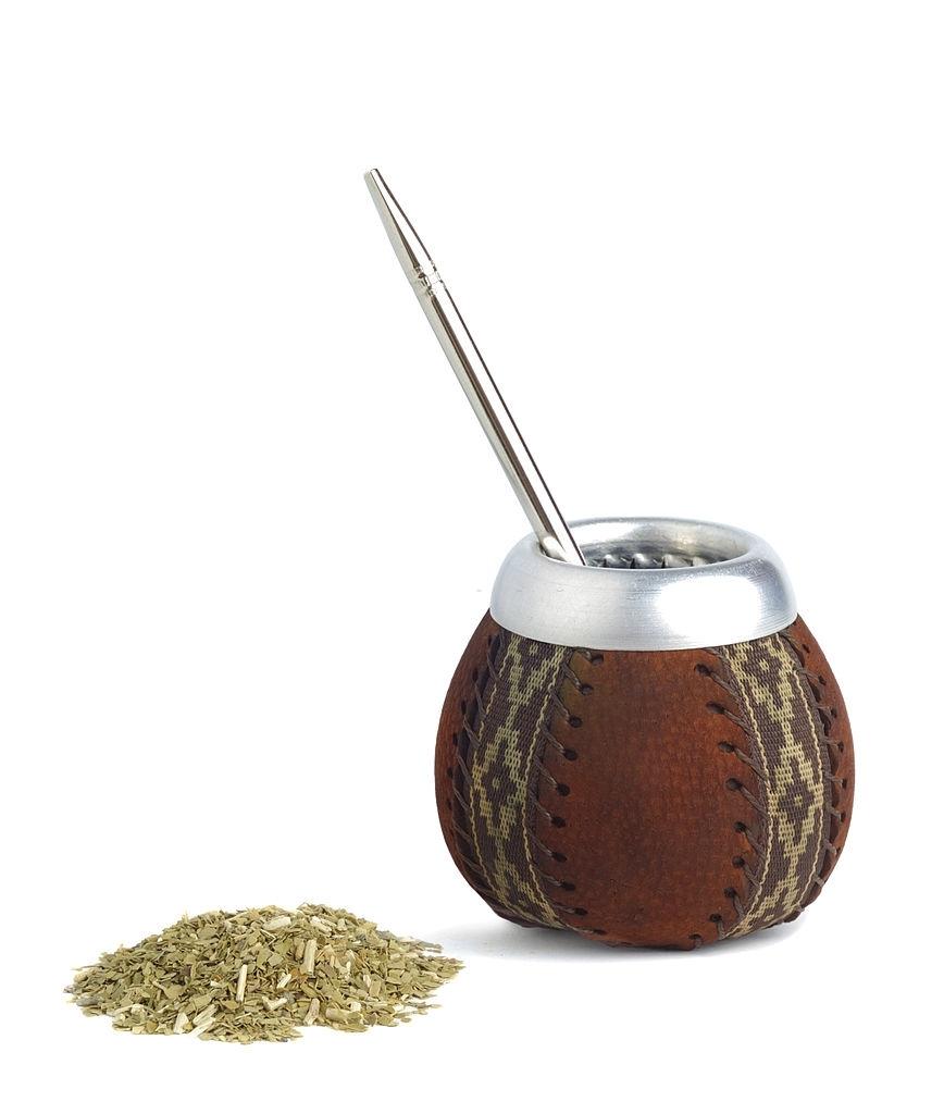 Mate de calabaza para infusión o té de mate