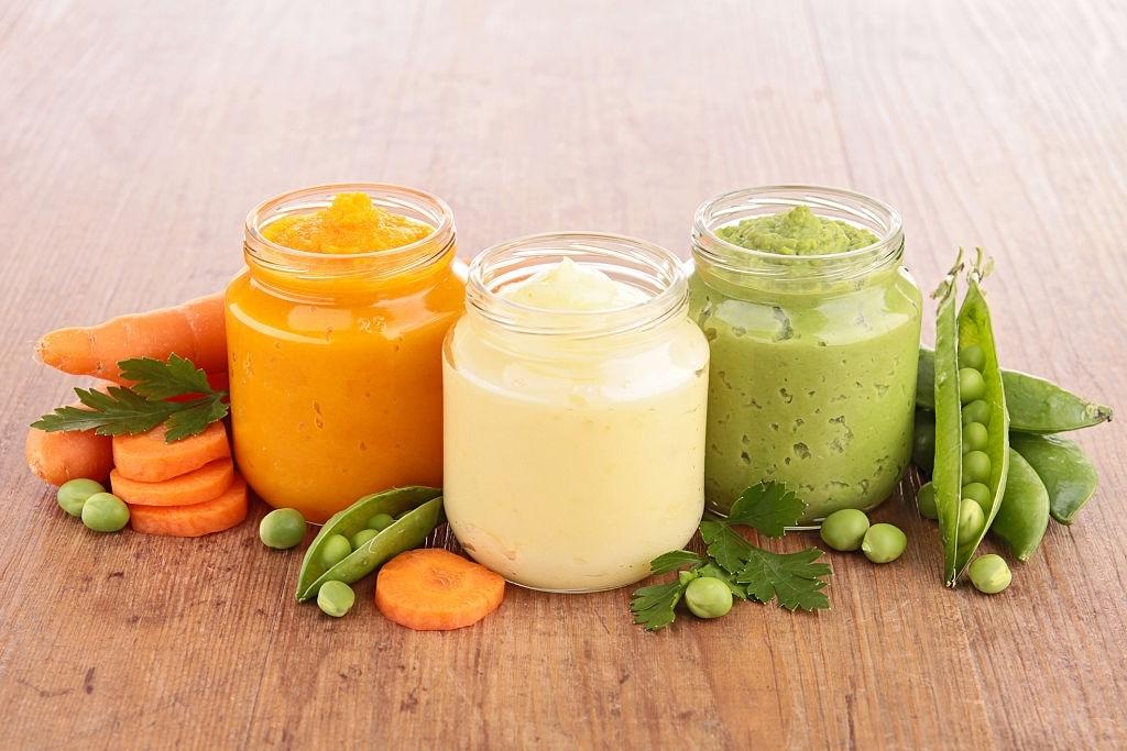 Potitos para bebés de verduras