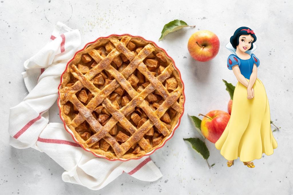 Tarta de Blancanieves 🍎  | 🥧 Pay de Manzana Disney®