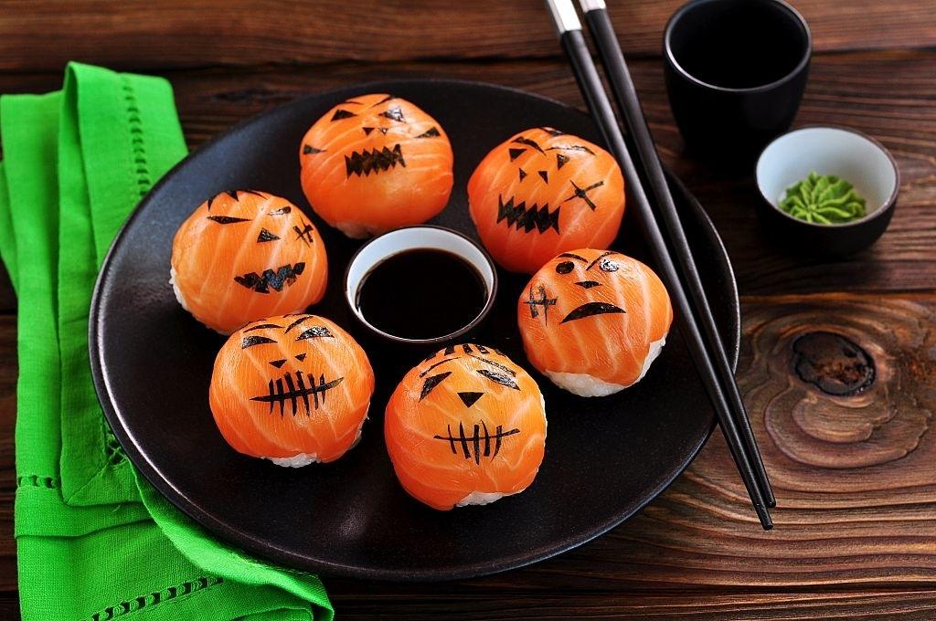 Sushi para Halloween | 🍣  ¡Originales y Terroríficos! 🎃 💀 👺