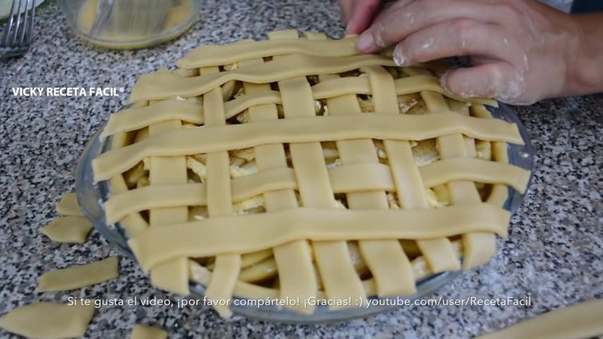 Tarta de manzana al estilo Blancanieves