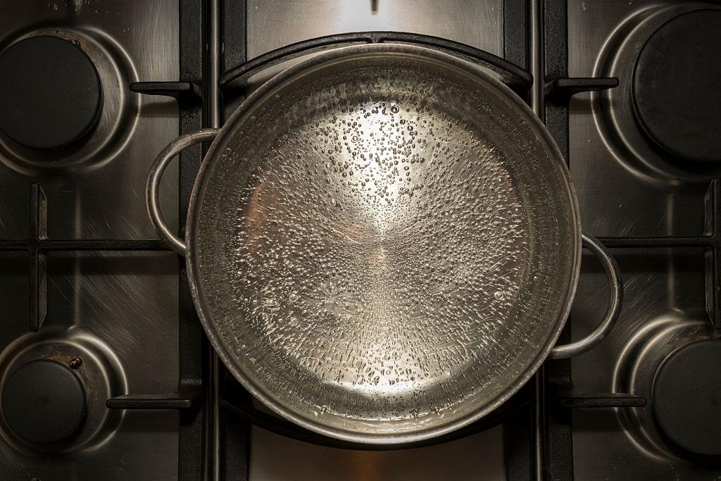agua para cocer macarrones