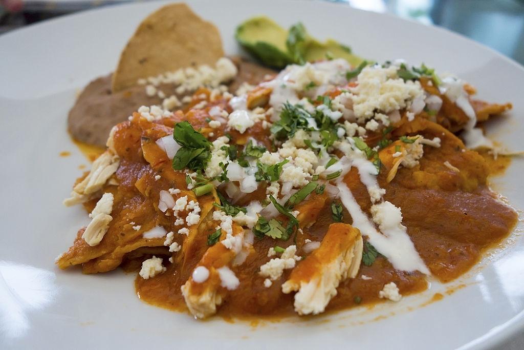 Chilaquiles caseros