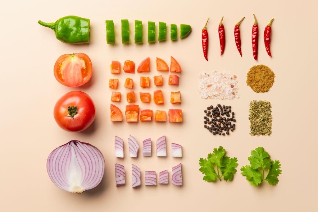 ingredientes taco vegano