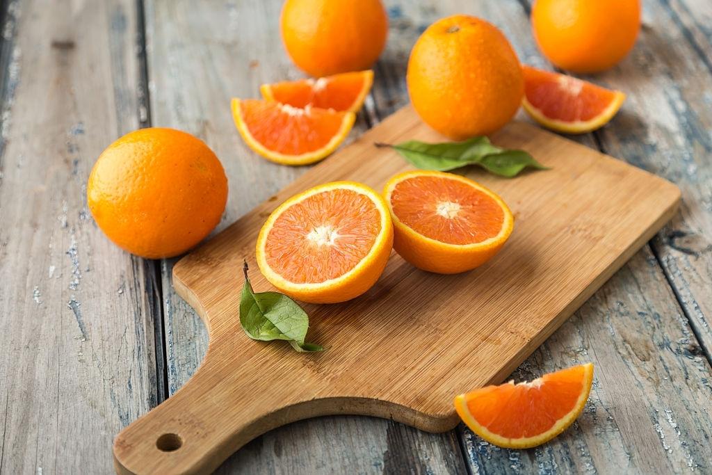 naranjas para hacer sirope