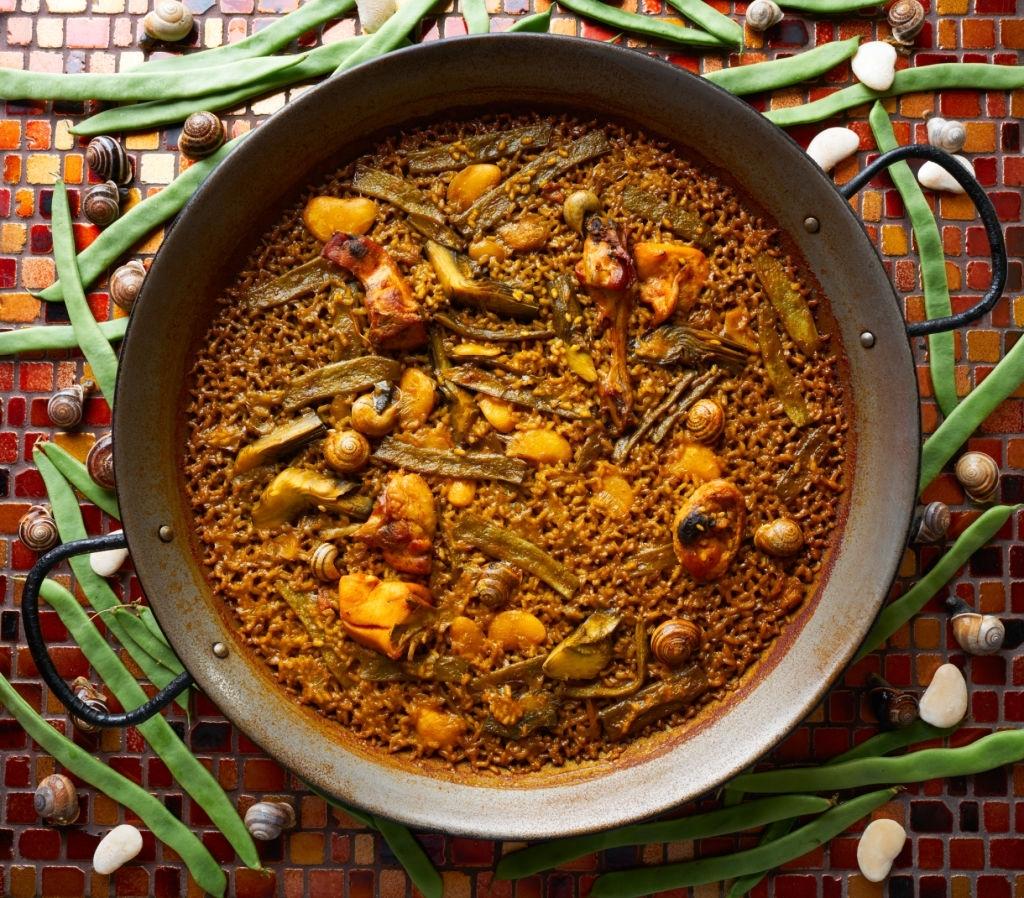 Paella Valenciana 🥘 Receta Tradicional