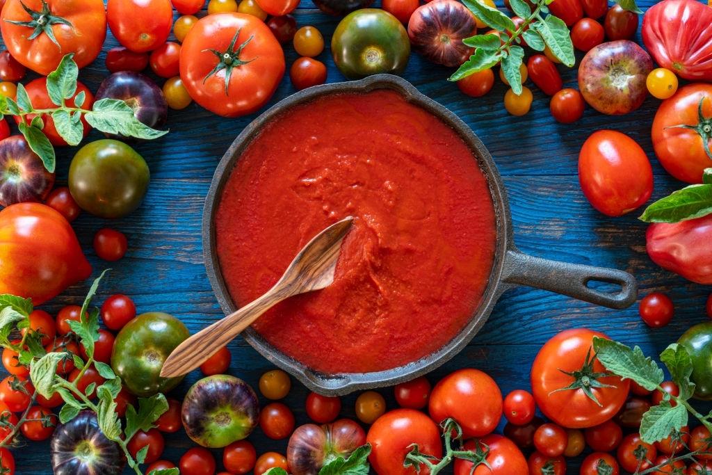 Passata de TOMATE 🍅 | Concentrado de tomate frito italiano