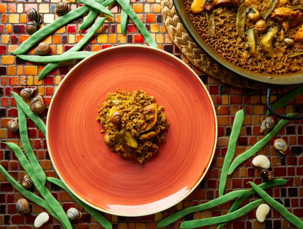 ración de paella valenciana