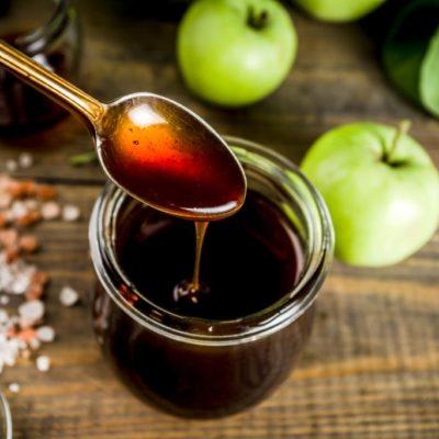 sirope de manzana casero