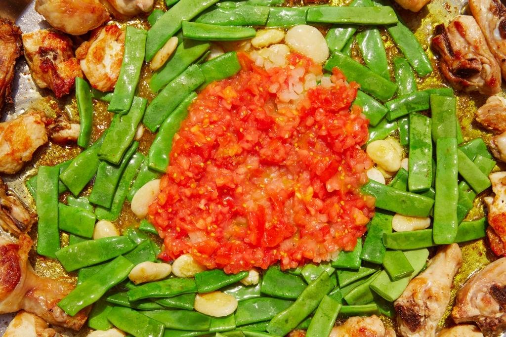 sofrito paella valenciana