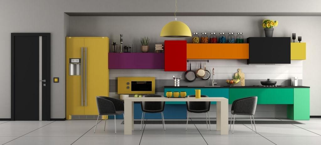 Cocina de colores para niños