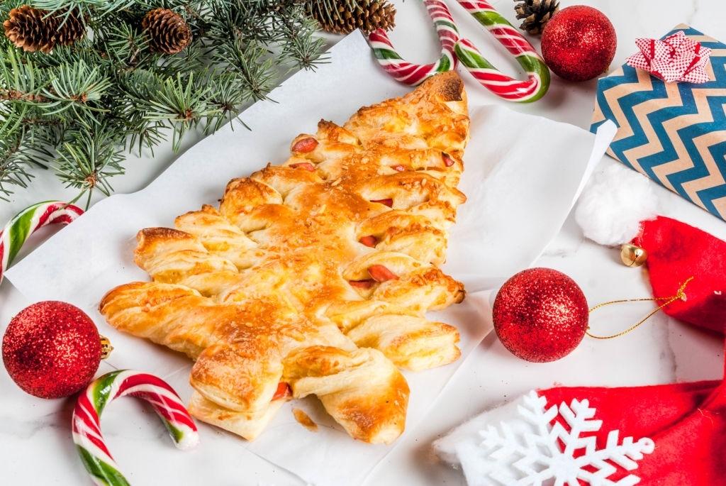Platos principales para un menú navideño infantil