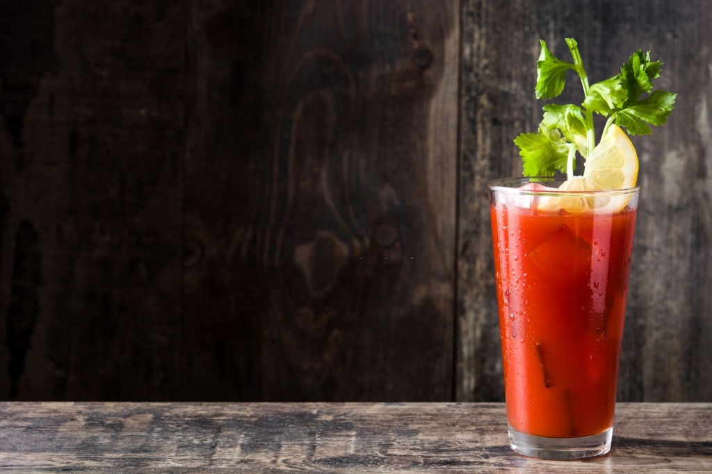 coctel de tomate sin alcohol