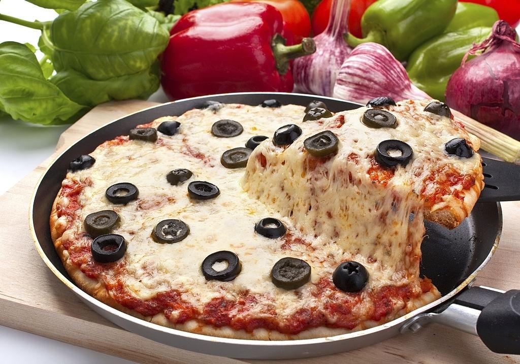 Pizza en SARTÉN ¡SIN HORNO!