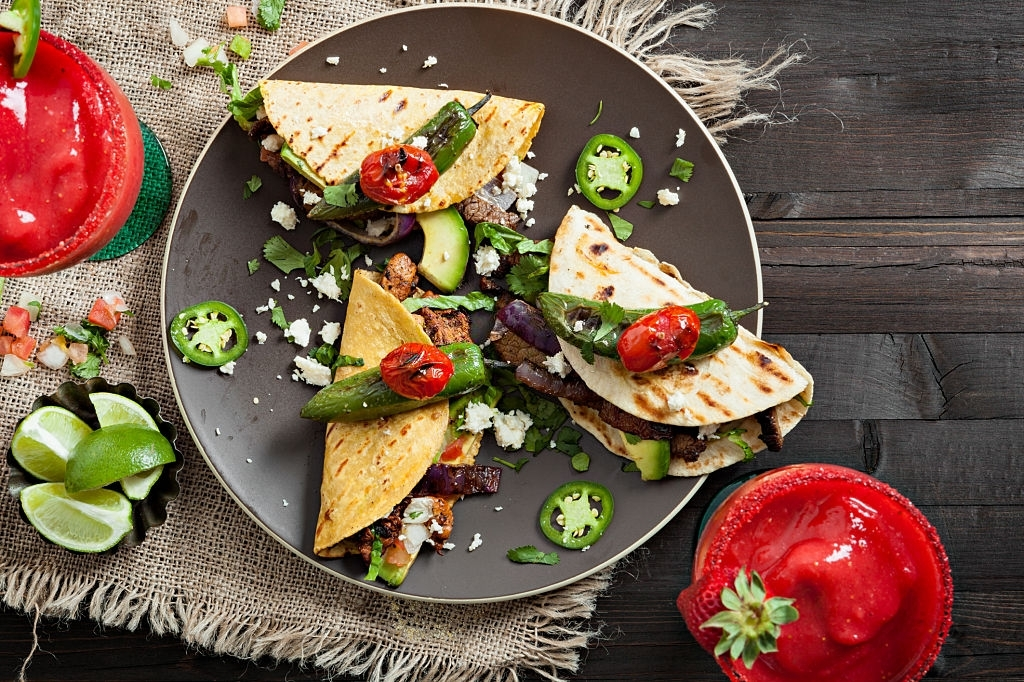 tacos de carne mexicano