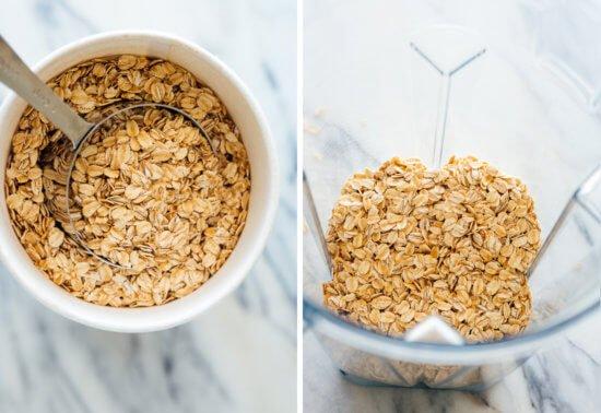 ¿Cómo hacer harina de avena casera?