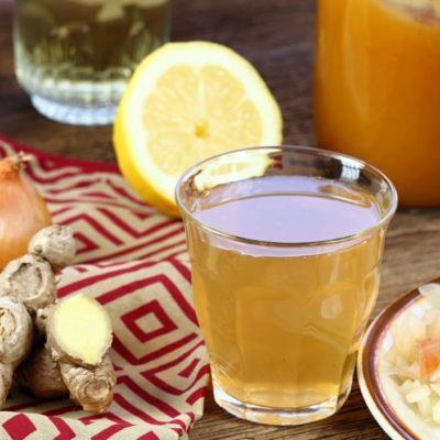 Receta infusión o té y propiedades de la cebolla