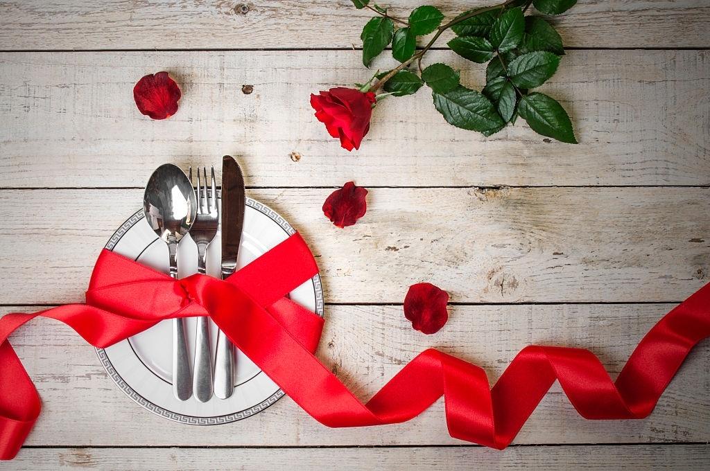 comida romántica san valentin