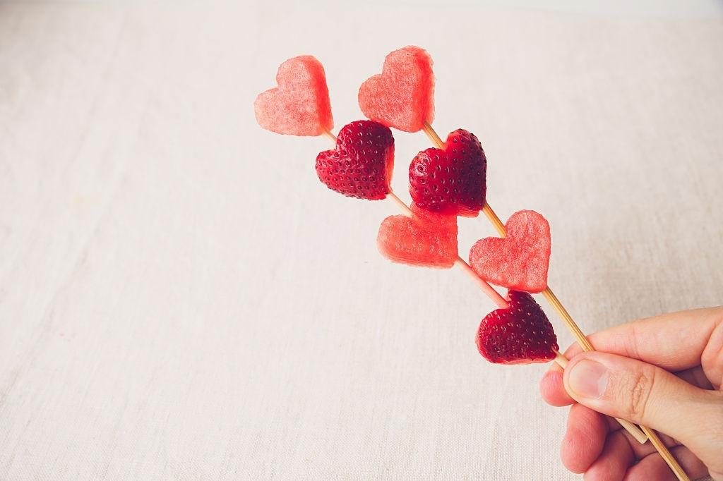 gominola forma de corazon