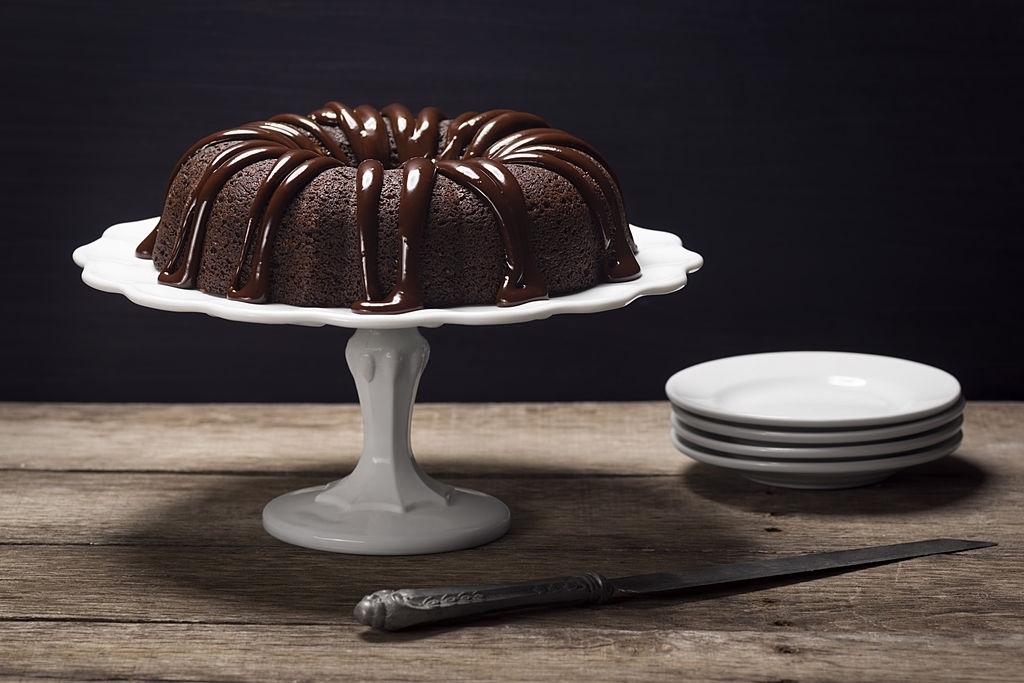 ganache de chocolate roscon