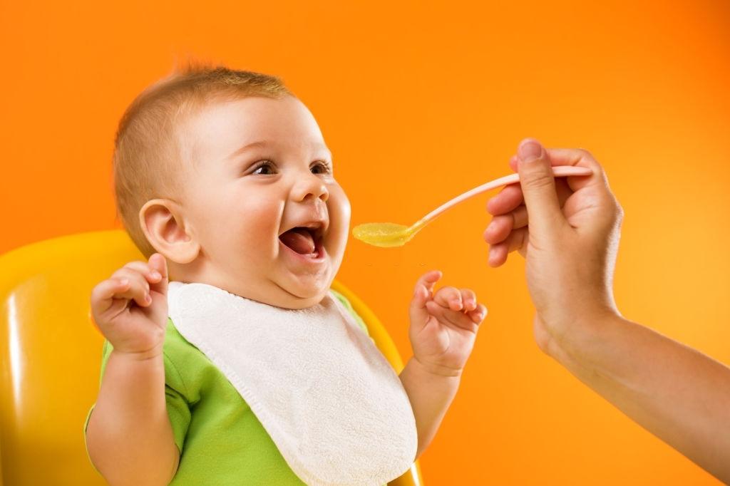 Papillas de frutas para bebés