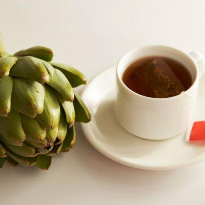 Infusión o té de alcachofa