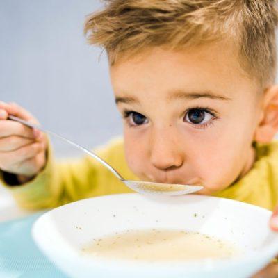 Sopas para niños
