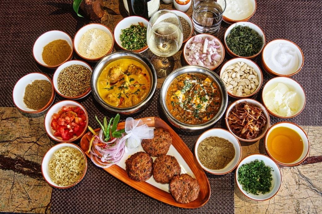 Recetas indias comida hindú