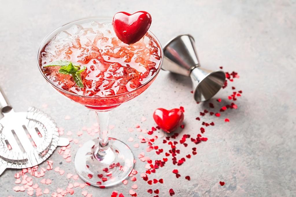 bebidas san valentin