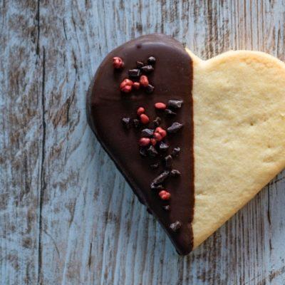 galleta para el dia de los enamorados