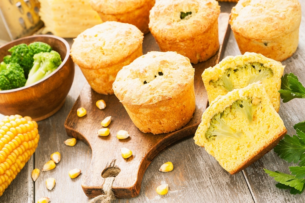 muffins de verduritas