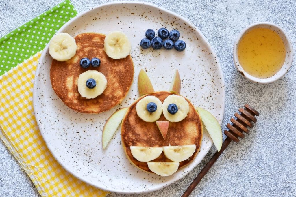desayunos con caritas de animales