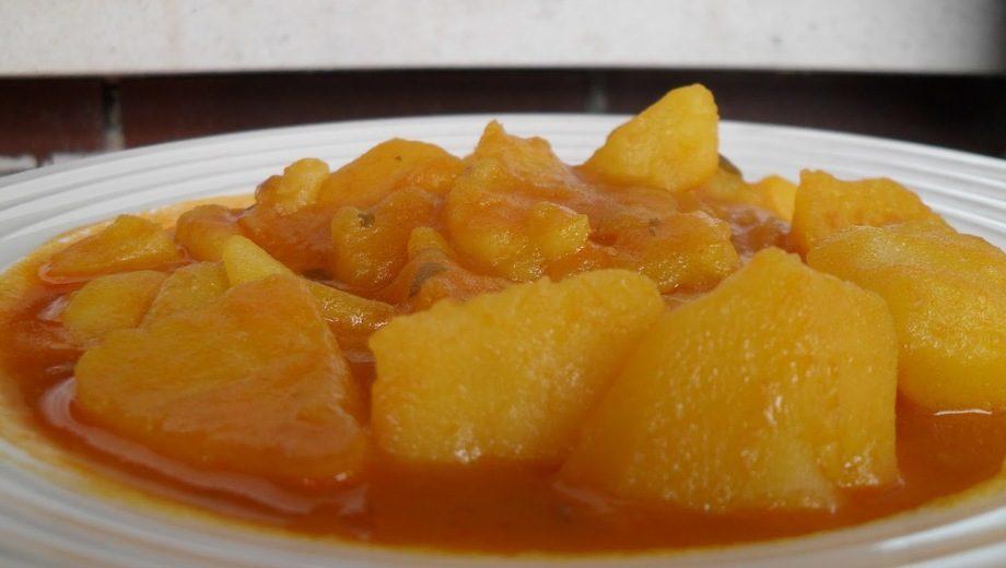 potaje patatas semana santa