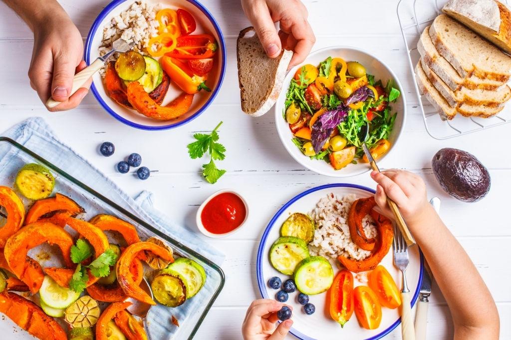 Recetas de verduras para niños y bebés BLW