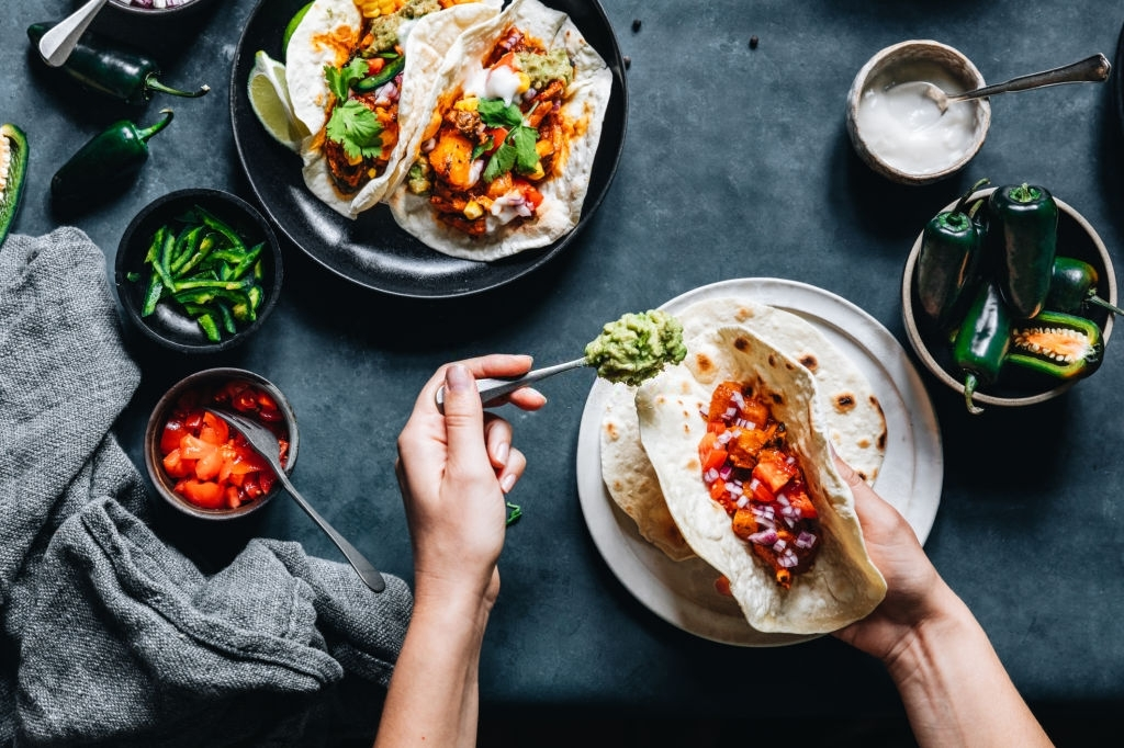 desayuno mexicano vegano