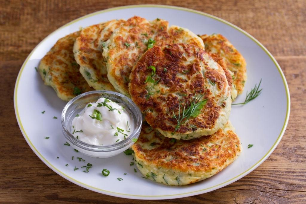 tortitas patata coliflor