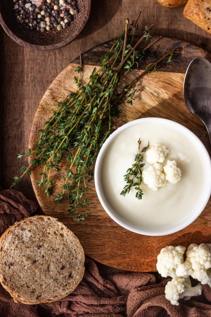 A qué sabe la bechamel de coliflor