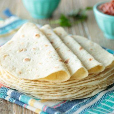 Tortillas de harina caseras 1
