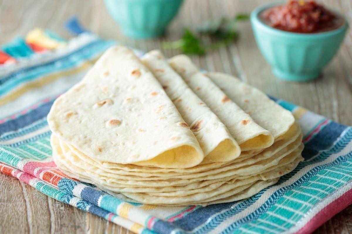 Las Mejores Tortillas de Harina Caseras ¡Receta MUY Fácil!