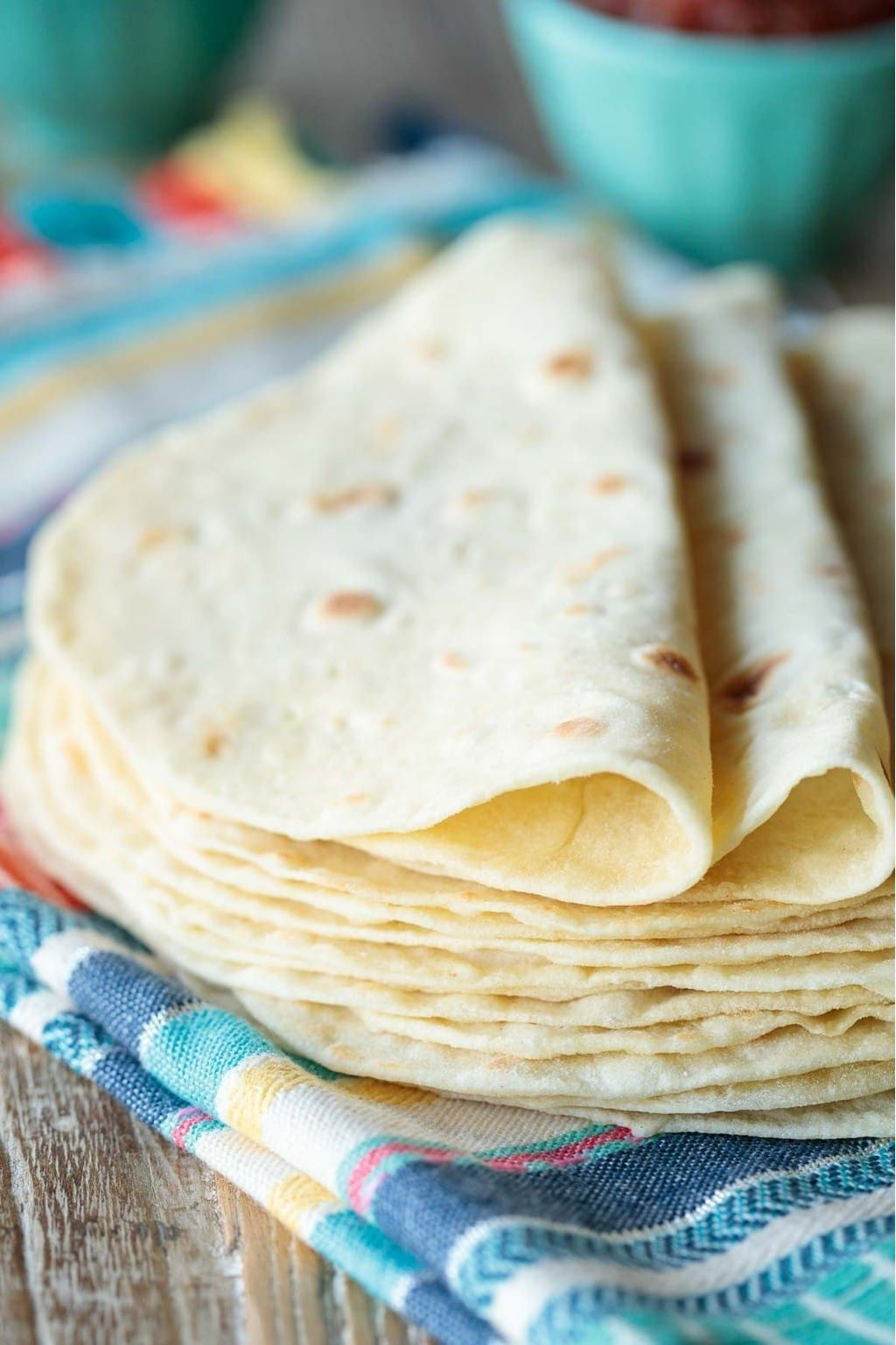Receta tortillas de harina caseras