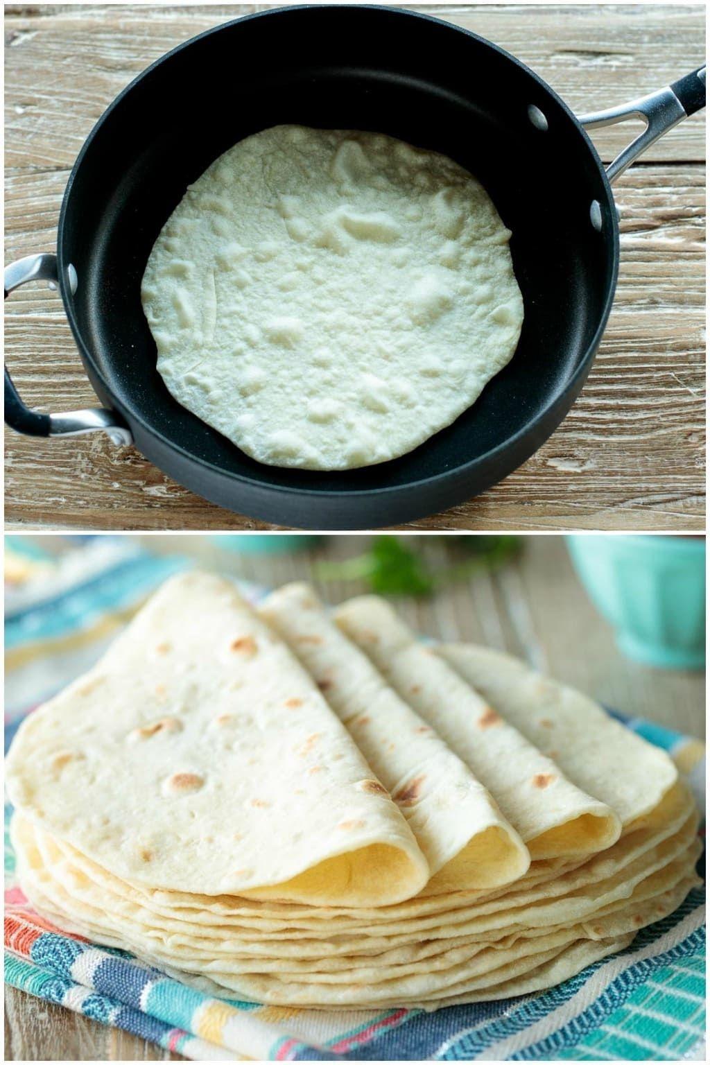 Paso a paso para elaborar tortillas de harina