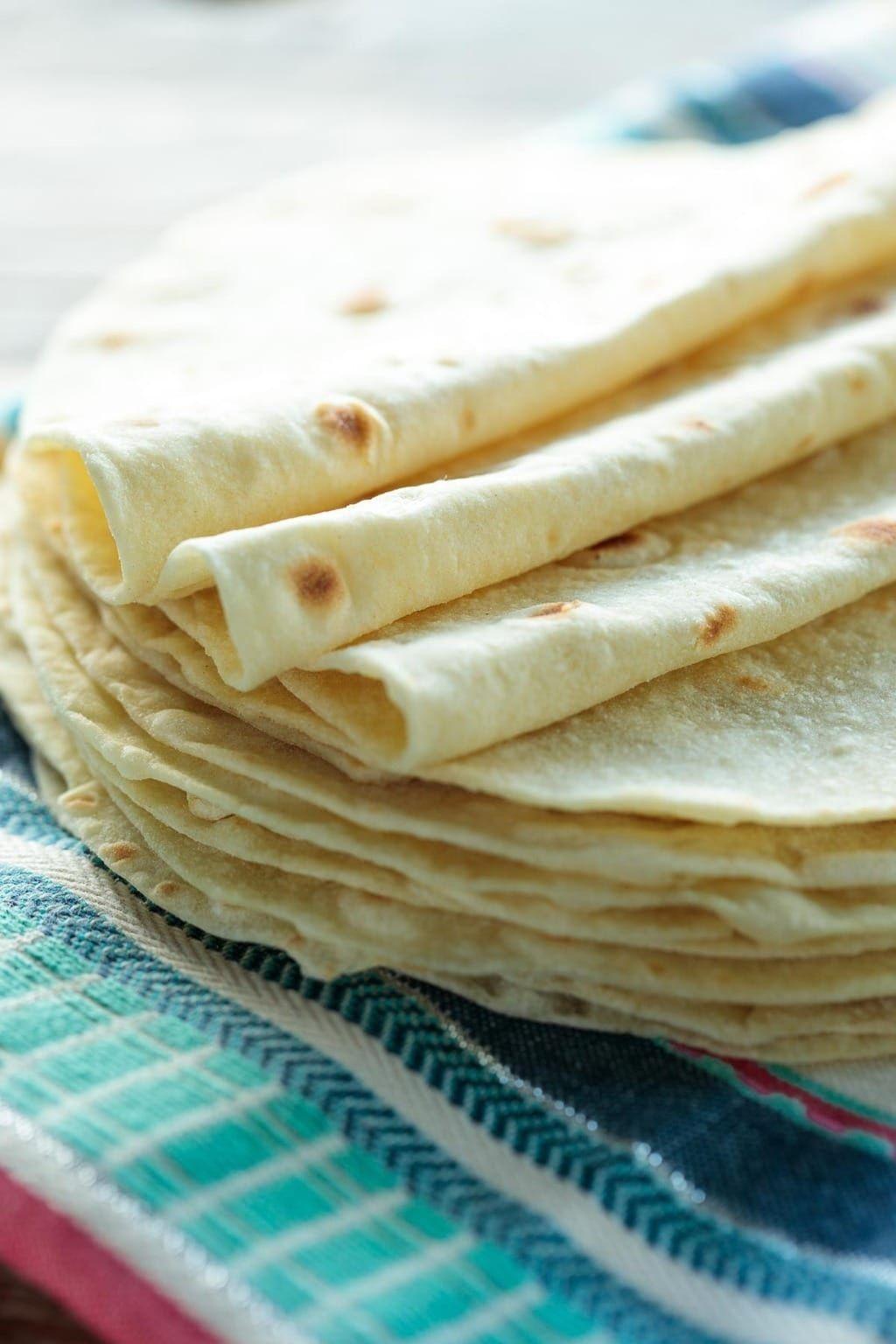 cómo hacer Tortillas de harina de trigo caseras