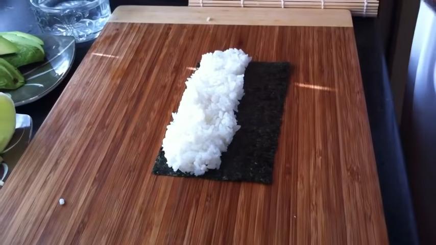 arroz uramaki