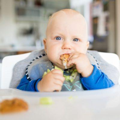 Hamburguesas para bebés