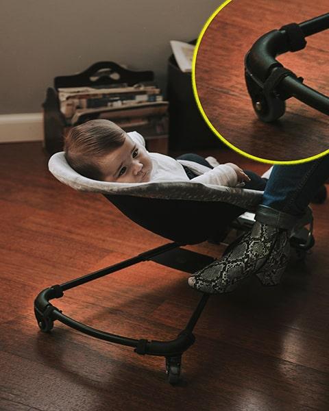 hamaca BabyBjörn con ruedas