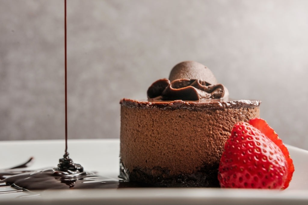 Tarta de chocolate para diabéticos
